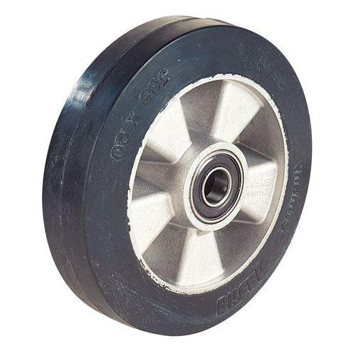 Stuurwiel met rubberen loopvlak - Draagvermogen 450 kg