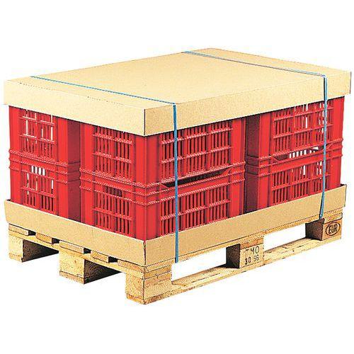 Kartonnen bescherming voor pallets   Manutan