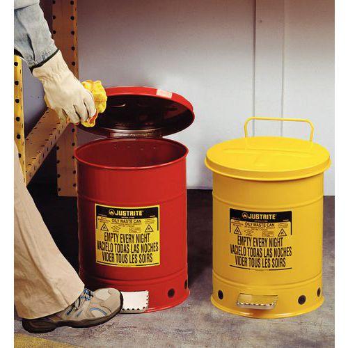 Veiligheids afvalvat - 79 L