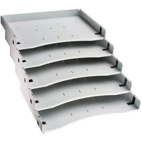 Ladeverdelers voor verrijdbaar ladeblok miro manutan for Ladeblok voor zweefdeurkast