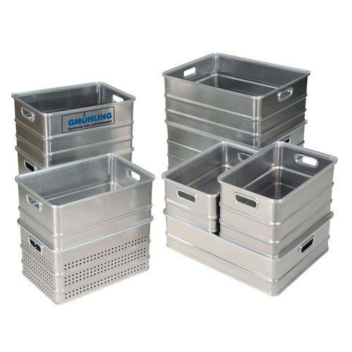 Transportbak aluminium - Lengte 578 mm