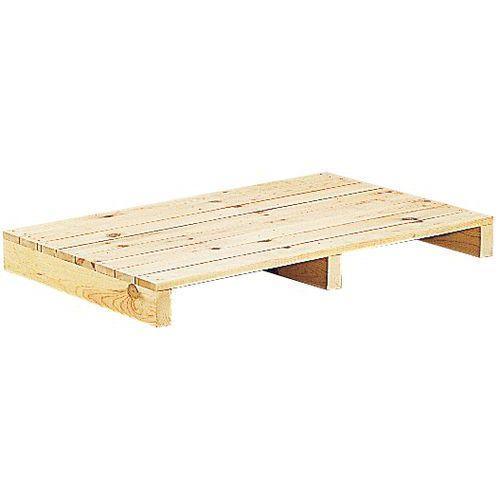 Pallet hout met dicht plateau