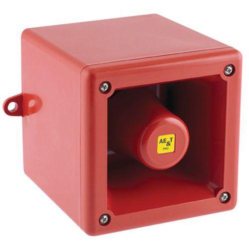 Afbeelding van Elektronische sirene 100 en 105 dB 24 V en 230 V