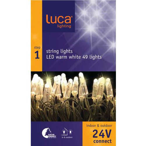 Verlichting Luca connect 24 startset transparant