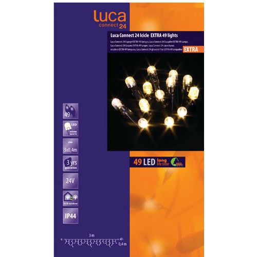 Verlichting Luca connect 24 ijspegel