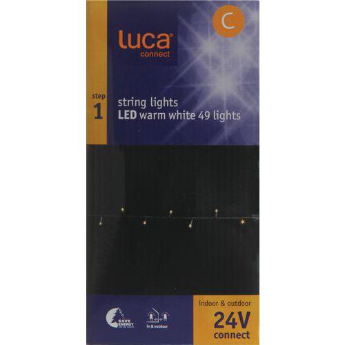 Verlichting Luca connect 24 startset black