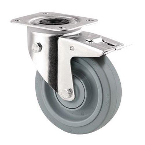 Zwenkwiel met plaat - Draagvermogen 160 kg