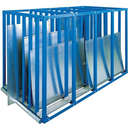 Platenstelling Rayon-Bleu