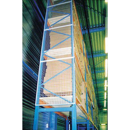 Stellingbescherming - Valbeveiligingsrooster - Verlengstuk voor bevestigingsmateriaal