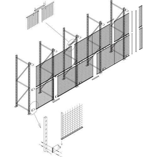 Bescherming voor stelling Easy-Rack - Valbeveiligingsrooster - Bevestigingsmiddelen