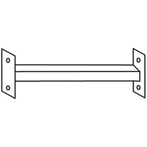 Koppelstuk Clip-Fix - Koppeling tussen juk en muur