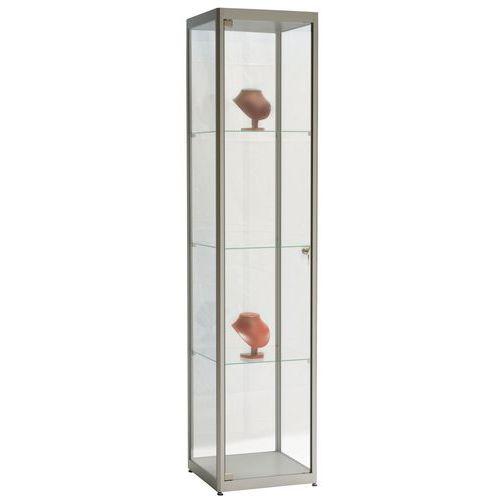 vitrine column met verlichting