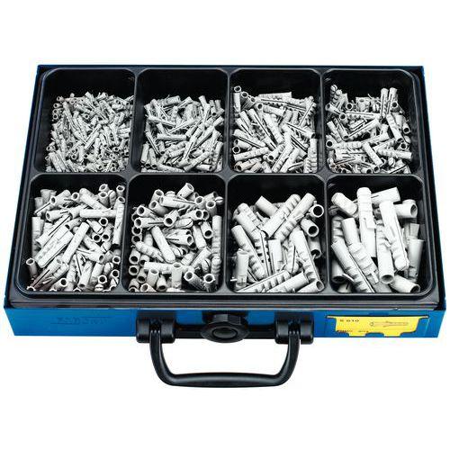 Assortimentsdoos met nylonpluggen - 720 stuks