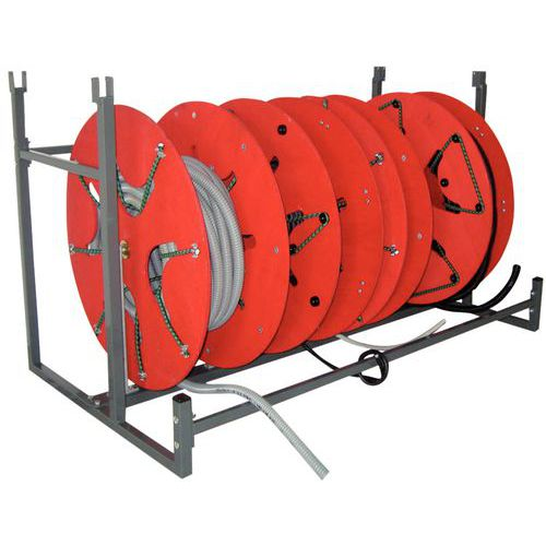 Module voor kabelhaspel- en draadspoelenrek Bobi-Rack