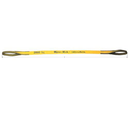Hijsband gecoat - Draagvermogen 1000 tot 5000 kg - Lengte 3 m