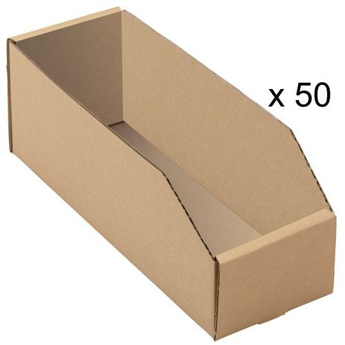 Kartonnen stapelbak - Lengte 300 mm