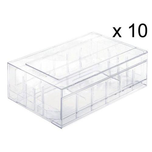 Ladeblok van kristalpolystereen - per set