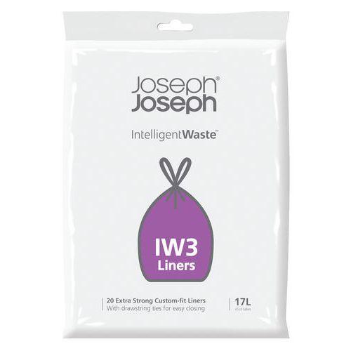 Intelligent Waste Afvalzak IW3 17 liter - Vepabins