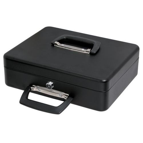 Geldkist met schuifbaar muntenvak - 300x230x90mm