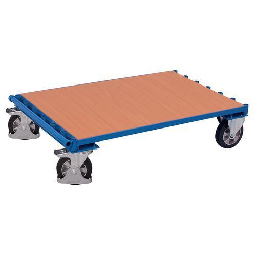Ergonomische wagen voor panelen, zonder zijpanelen - Draagvermogen 1200kg