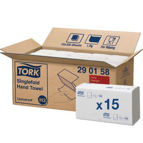 Handdoek Tork Universel H3 - ZZ-vouw