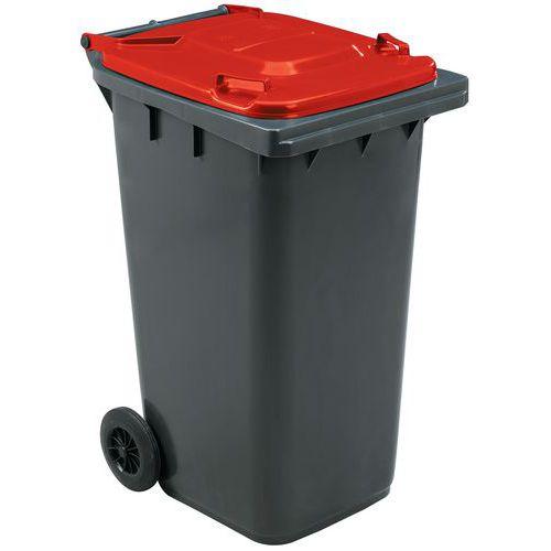Mobiele container voor afvalscheiding - 240l - Manutan