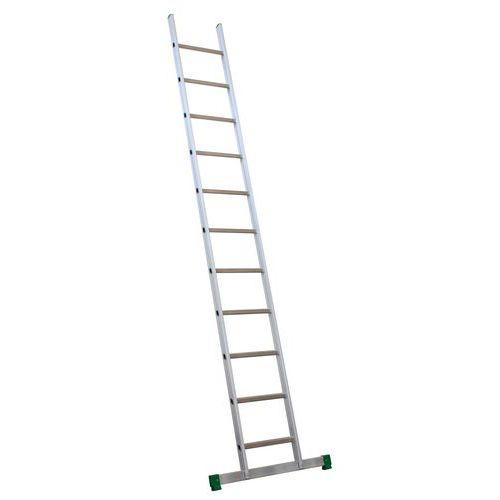 Enkelvoudige ladder met schuine sporten