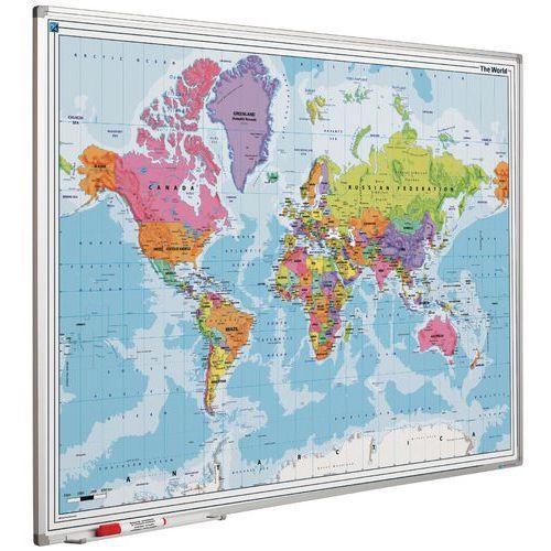 Geografische wereldkaart magnetisch 90 x 120 cm thecheapjerseys Choice Image