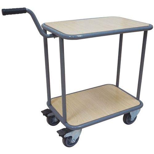Tafelwagen met 2 plateaus - Draagvermogen 200kg - Manutan