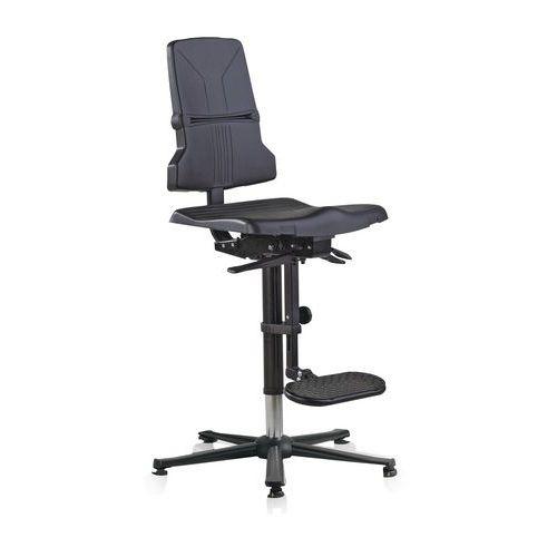 Werkplaatsstoel Bimos Sintec ESD - Hoog - Op glijders