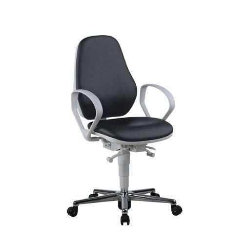 Afbeelding van Lage stoel voor cleanroom Bimos 9142