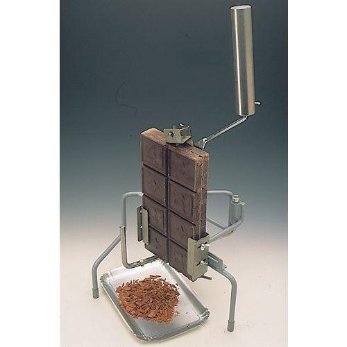 Chocoladerasp handmatig