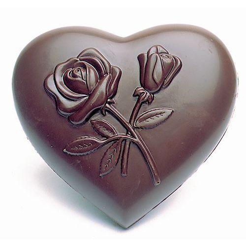 Vorm voor harten versierd met bloemen
