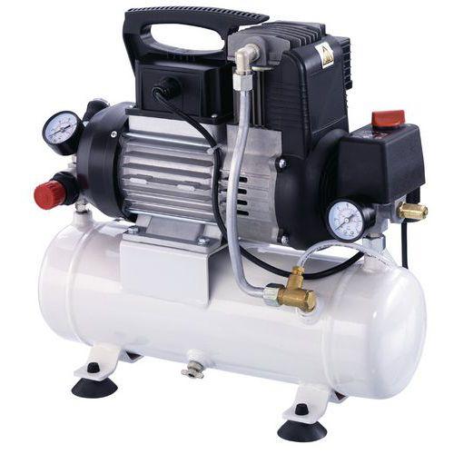 Compressor zonder olie 9 bar