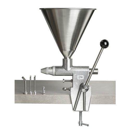 Machine voor het inspuiten van slagroom klein model