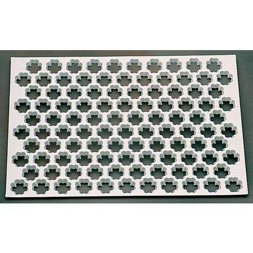 Uitsteekplaat voor klavertje vier vorm
