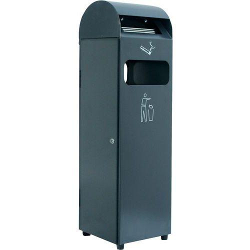 As-afvalbak op voet - 29 en 48 L - Manutan