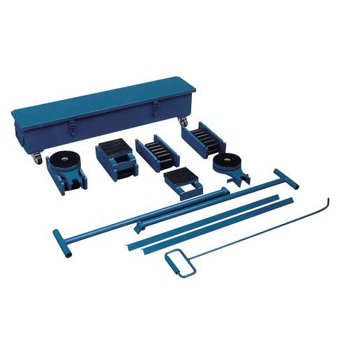 Set rollers - Draagvermogen 20 tot 60 ton