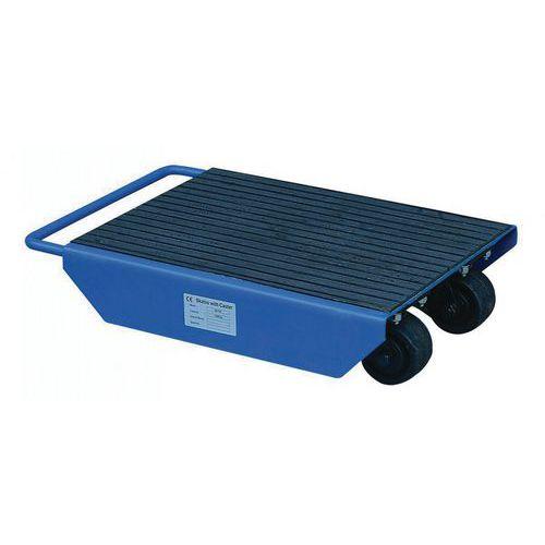 Roller met scharnierrollen - Draagvermogen 1000 kg