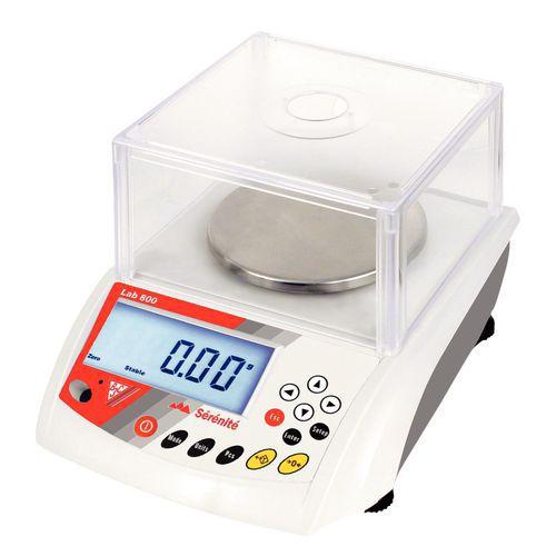 Afbeelding van Laboratoriumweegschaal LAB-800 - Weegvermogen 150 tot 3000 g