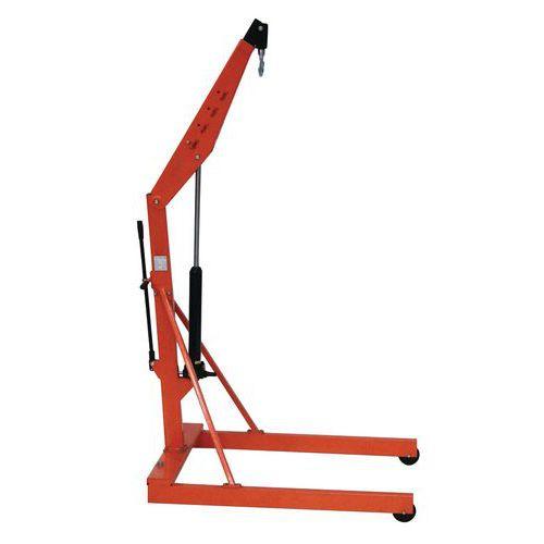 Werkplaatskraan met kader - Hefvermogen 500kg en 1000kg