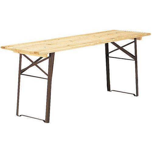 houten klaptafel halve parasol. Black Bedroom Furniture Sets. Home Design Ideas