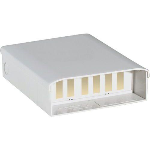 Optische doos voorzien van 6 dubbele SC connectoren