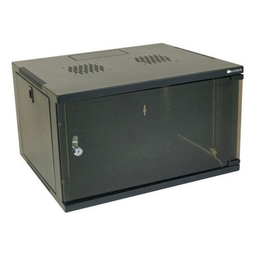 "Wandkast eco vast DEXLAN 19"" 20U prof 450 mm (zwart)"