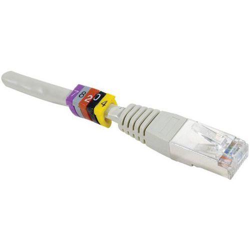 Kabelmarkeerder DEXLAN diam 6 mm 9 Wit