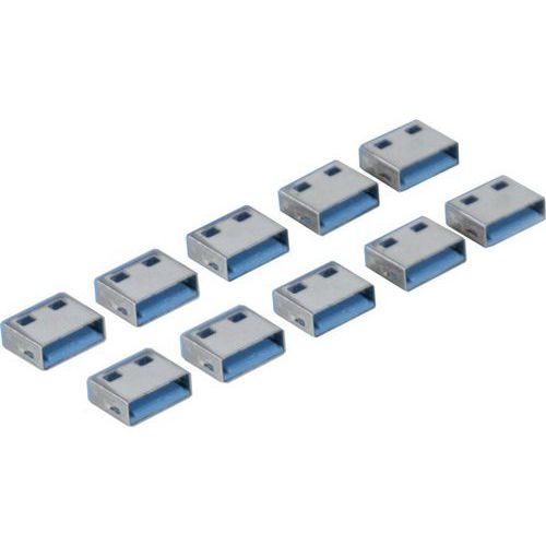 USB-poortblokker voor USB Type A-connector KeyCode GROEN
