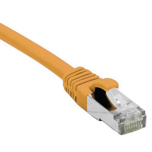 Netwerkkabel DEXLAN RJ45 CAT 6 S/FTP LSOH SNG oranje 0.15 M