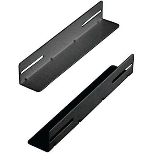 L-vormige railbeugels DEXLAN 650 mm zwart