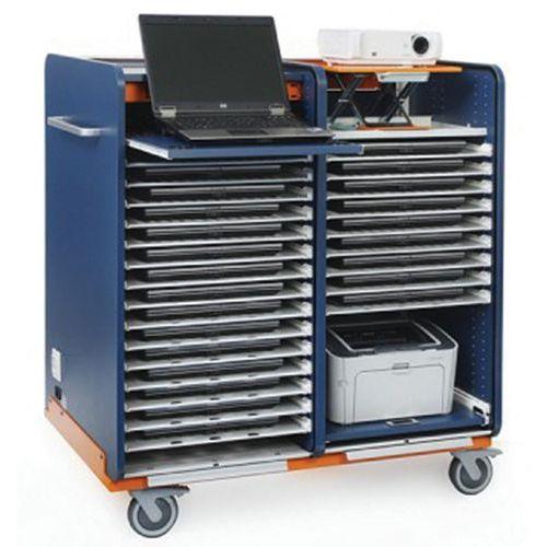 Medium kast speciaal voor mobiel klaslokaal 16+1 laptops