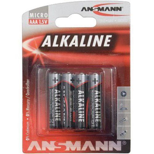 Alkalinebatterijen ANSMANN 5015553 LR03 / AAA